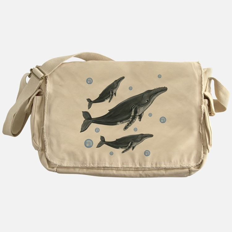Humpback Whale Messenger Bag