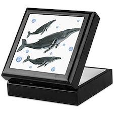 Humpback Whale Keepsake Box