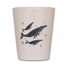 Humpback Whale Shot Glass
