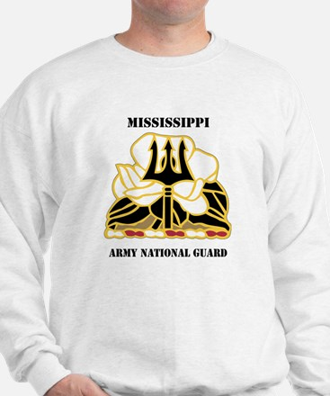 DUI - Mississippi Army National Guard with text Sw