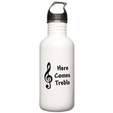Here Comes Trouble Sports Water Bottle