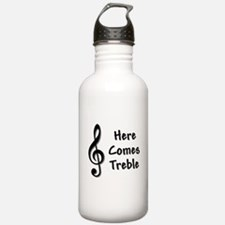 Here Comes Trouble Water Bottle