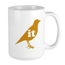 IT ON A BIRD Mug