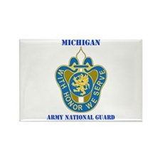 DUI - Michigan Army National Guard with text Recta