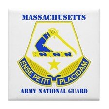 DUI - Massachusetts Army National Guard with text