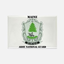 DUI - Maine Army National Guard with text Rectangl