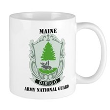 DUI - Maine Army National Guard with text Mug