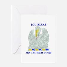 DUI-LOUISIANA ANG WITH TEXT Greeting Card