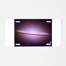Sombrero Galaxy Aluminum License Plate