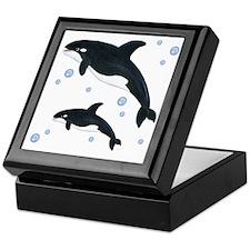 Orca Whale Keepsake Box