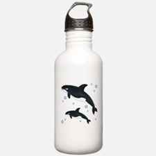 Orca Whale Water Bottle