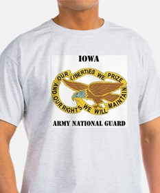 DUI-IOWA ANG WITH TEXT T-Shirt
