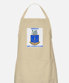 DUI-INDIANA ARMY NATIONAL GUARD WITH TEXT Apron