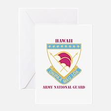 DUI-HAWAII ANG WITH TEXT Greeting Card