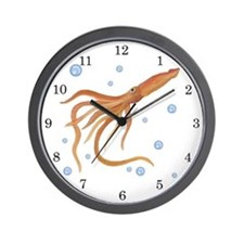 Squid Wall Clock
