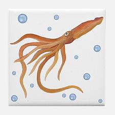 Squid Tile Coaster