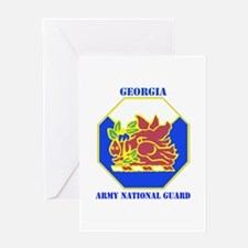 DUI-GEORGIA ANG WITH TEXT Greeting Card