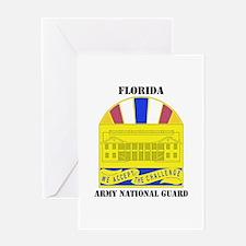 DUI-FLORIDA ANG WITH TEXT Greeting Card