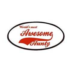 World's Most Awesome Aunty Patches