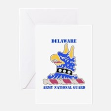 DUI-DELAWARE ANG WITH TEXT Greeting Card