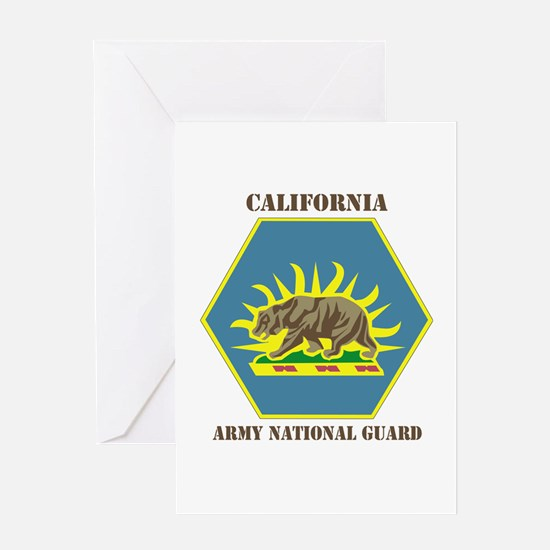 DUI-CALIFORNIA ANG WITH TEXT Greeting Card