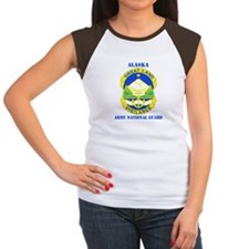 DUI-ALASKA ANG WITH TEXT Women's Cap Sleeve T-Shir