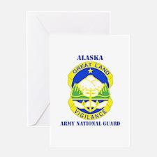 DUI-ALASKA ANG WITH TEXT Greeting Card