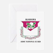DUI-ALABAMA ANG WITH TEXT Greeting Card