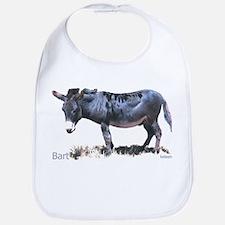 Burro, Miniature Donkey, Bart Bib