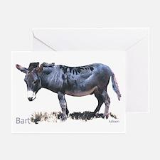 Burro, Miniature Donkey, Bart Greeting Cards (Pack