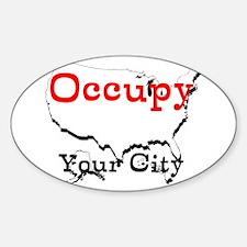Custom Occupy Your City Decal