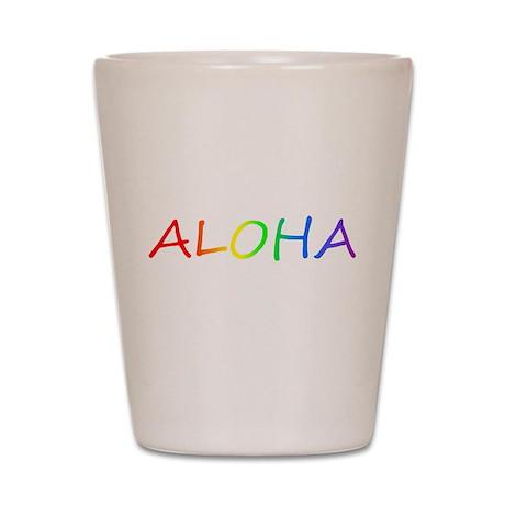 Aloha Shot Glass