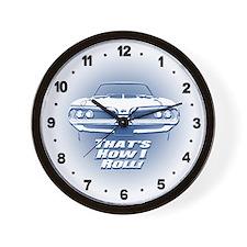 How I Roll - Super Bee Wall Clock