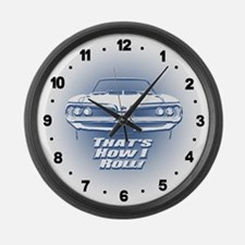 How I Roll - Super Bee Large Wall Clock