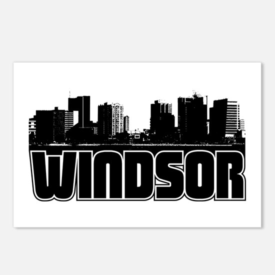 Windsor Skyline Postcards (Package of 8)