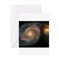 The Whirlpool Galaxy: M51 Greeting Card