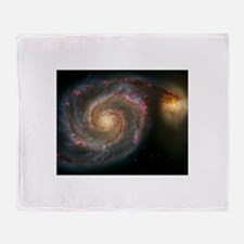 The Whirlpool Galaxy: M51 Throw Blanket