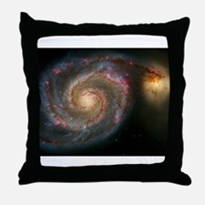The Whirlpool Galaxy: M51 Throw Pillow