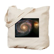 The Whirlpool Galaxy: M51 Tote Bag