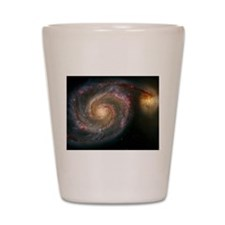 The Whirlpool Galaxy: M51 Shot Glass