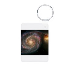 The Whirlpool Galaxy: M51 Keychains