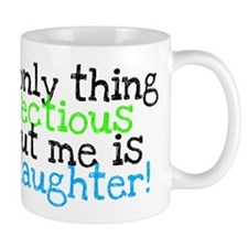 Infectious Laughter green/pin Mug