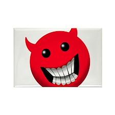 Devilish Smile Rectangle Magnet (100 pack)
