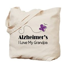 Alzheimer's Love My Aunt Tote Bag