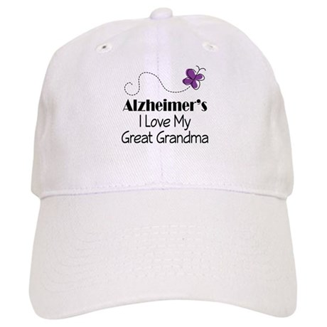Alzheimer's Love My Great Grandma Cap