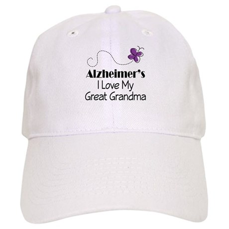 Alzheimer's Love My Great Grandma Cap