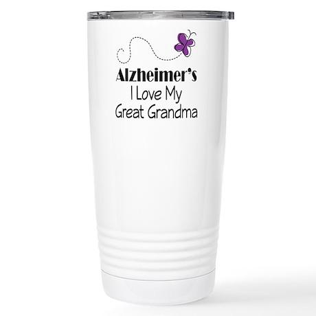 Alzheimer's Love My Great Grandma Stainless Steel