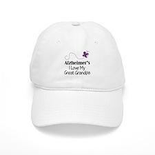 Alzheimer's Love My Great Grandpa Baseball Cap