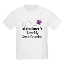Alzheimer's Love My Great Grandpa T-Shirt