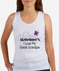Alzheimer's Love My Great Grandpa Women's Tank Top